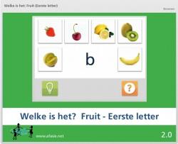 Welke is het: Fruit (Eerste letter)