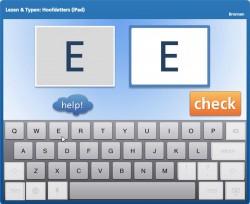 Lezen & Typen: Hoofdletters (iPad)