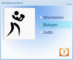 Lezen & Kiezen: Sport (pictogrammen)